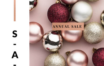Holiday Customer Appreciation Sale: Annual