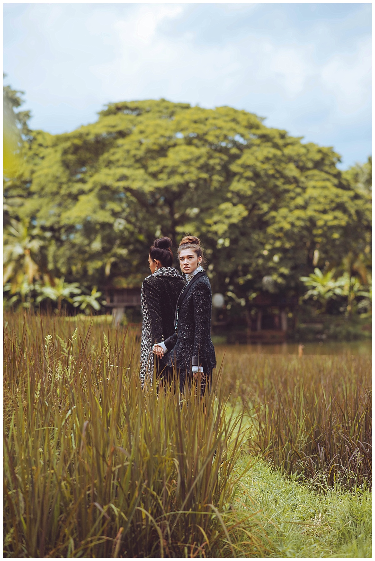 Harpers Bazaar Thailand Fashion Editorial Photography Chanel 2019 Wardrobe