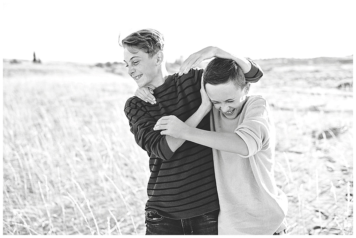 Idaho Sand Dunes Family Photography
