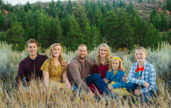 Lambson family Pocatello Idaho Outdoor Portraits
