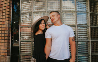 Downtown Pocatello Idaho Couples Portrait Session by Jamie Findlay Photography
