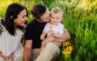 Tarbet family idaho summer family portraits by jamie findlay photography